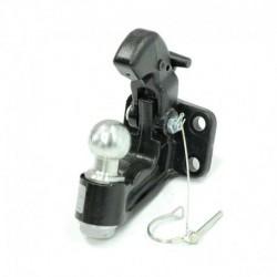 Chape mixte 4 trous 3.5 Tonnes - Boule Diamètre 50mm