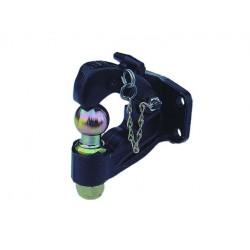 Crochet mixte 2 trous 3.5 Tonnes avec boule 50mm